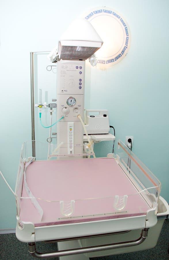 医疗设备的医院 免版税图库摄影