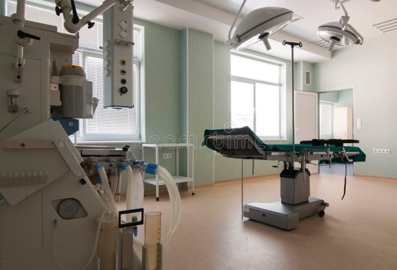 医疗诊断设备空间 免版税图库摄影