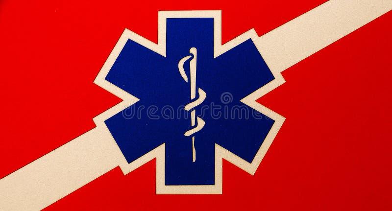 医疗象征的权威 免版税库存照片