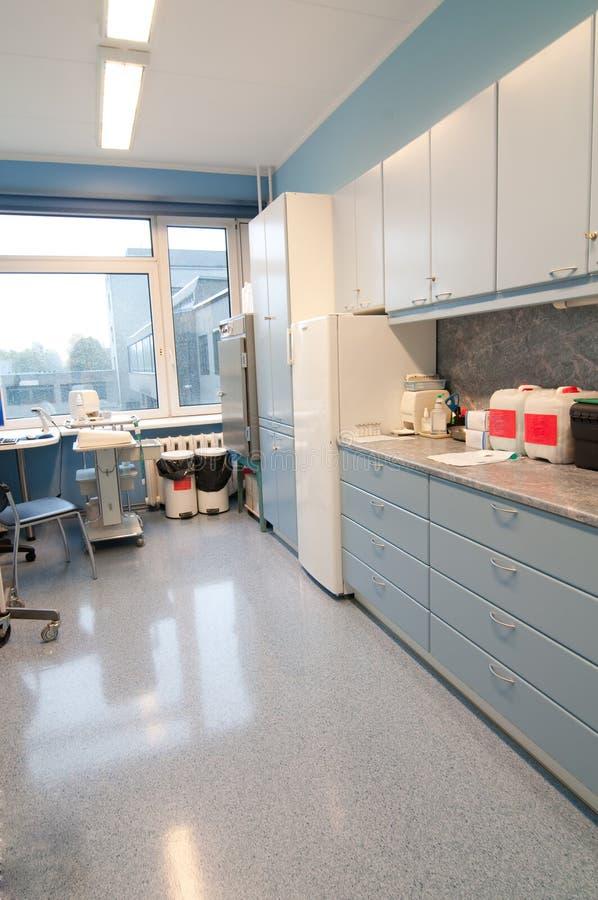 医疗过程空间 免版税库存照片