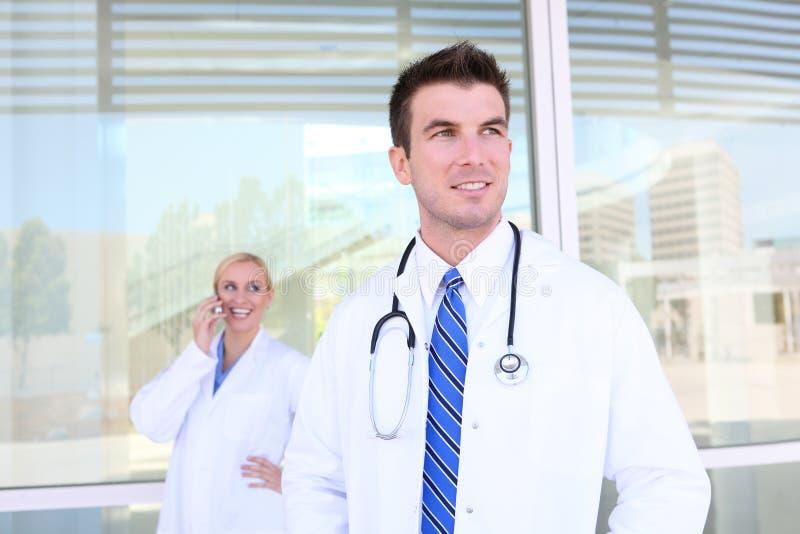 医院医疗队 库存照片