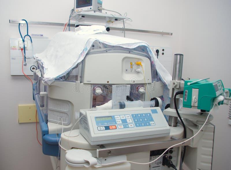 医院孵养器 免版税库存图片