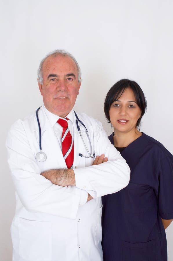 医院小组 免版税库存图片
