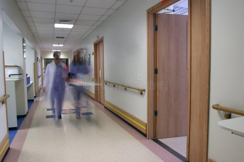 医院工作人员 免版税库存图片