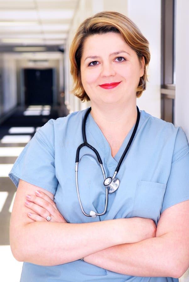 医院护士 免版税库存图片