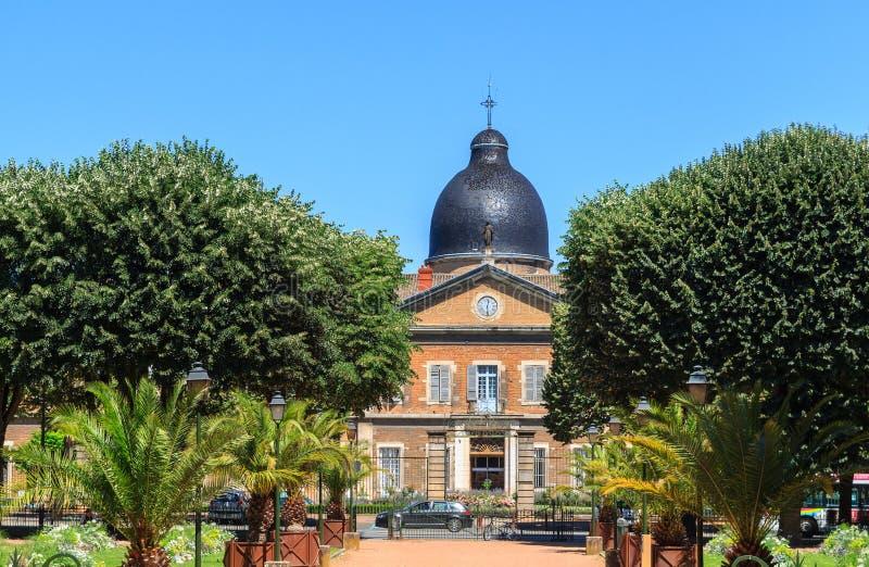 医院旅馆Dieu在布戈尼,梅肯,法国  库存照片