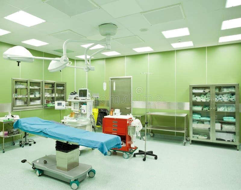 医院没人手术室 库存照片