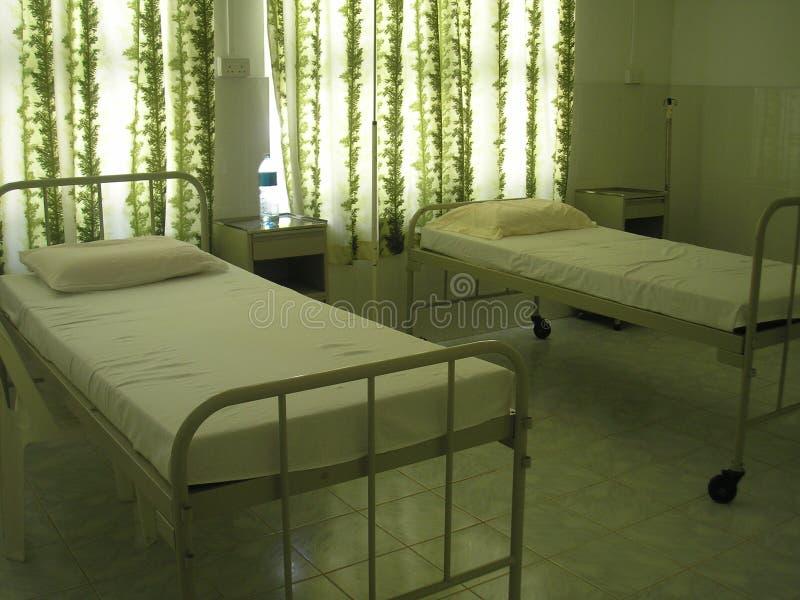 医院马尔代夫 免版税库存照片