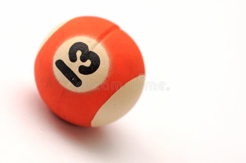 十三球 图库摄影