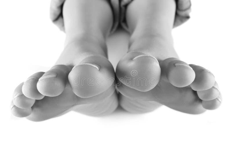 十个脚趾 库存照片