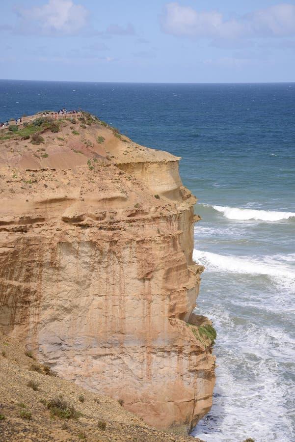 十二位传道者的观点澳大利亚的南海岸的 库存照片