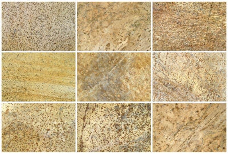 十二自然石灰石背景或纹理