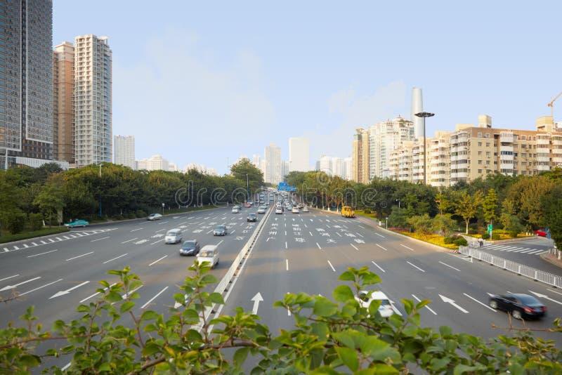十二运输路线高速公路 库存图片