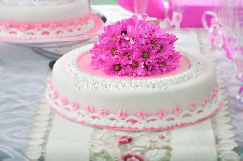 十五年蛋糕 免版税图库摄影