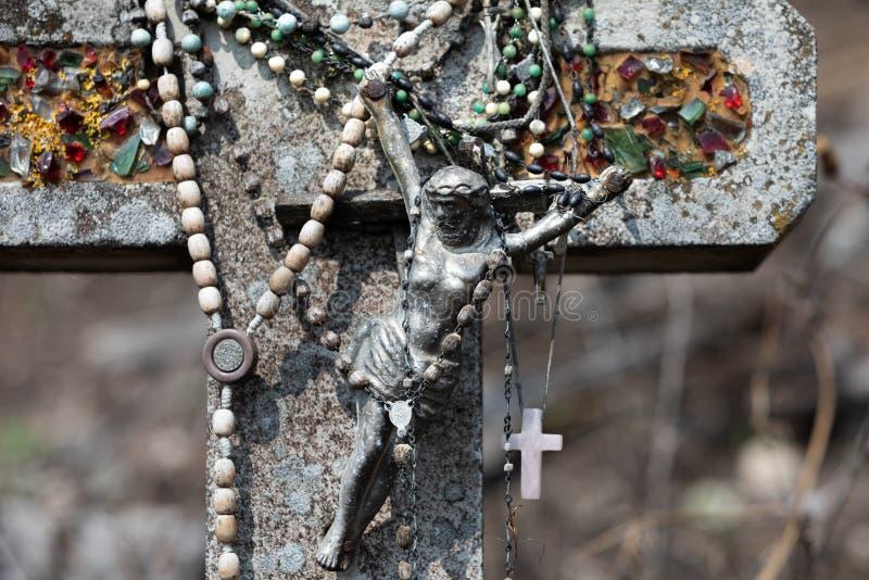 十字架山 库存照片