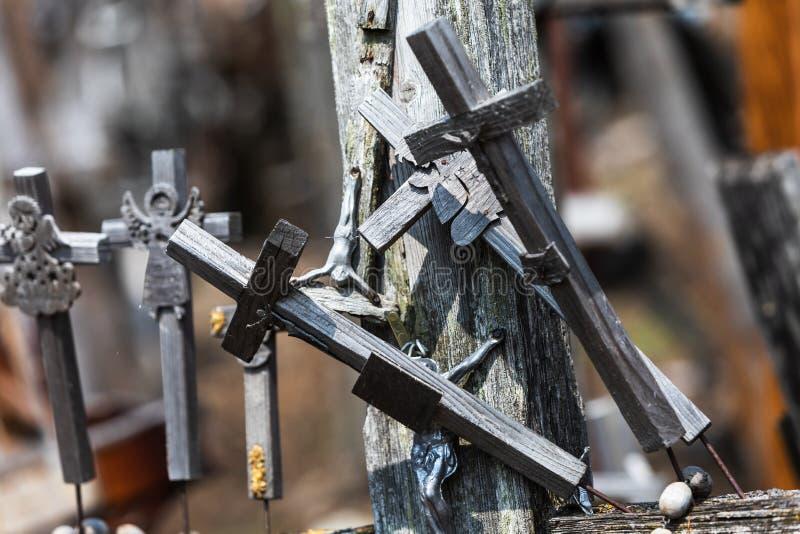 十字架山 免版税库存照片