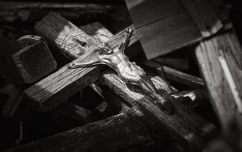 十字架山 免版税图库摄影
