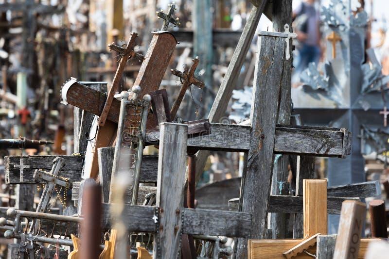 十字架山 免版税库存图片