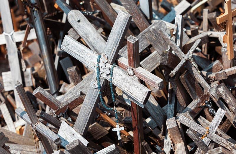 十字架山 库存图片