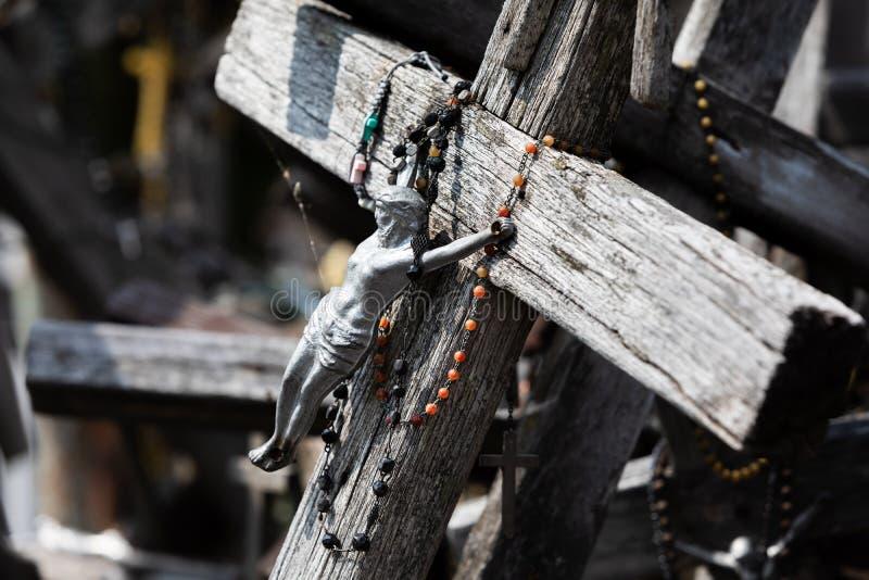 十字架山 图库摄影