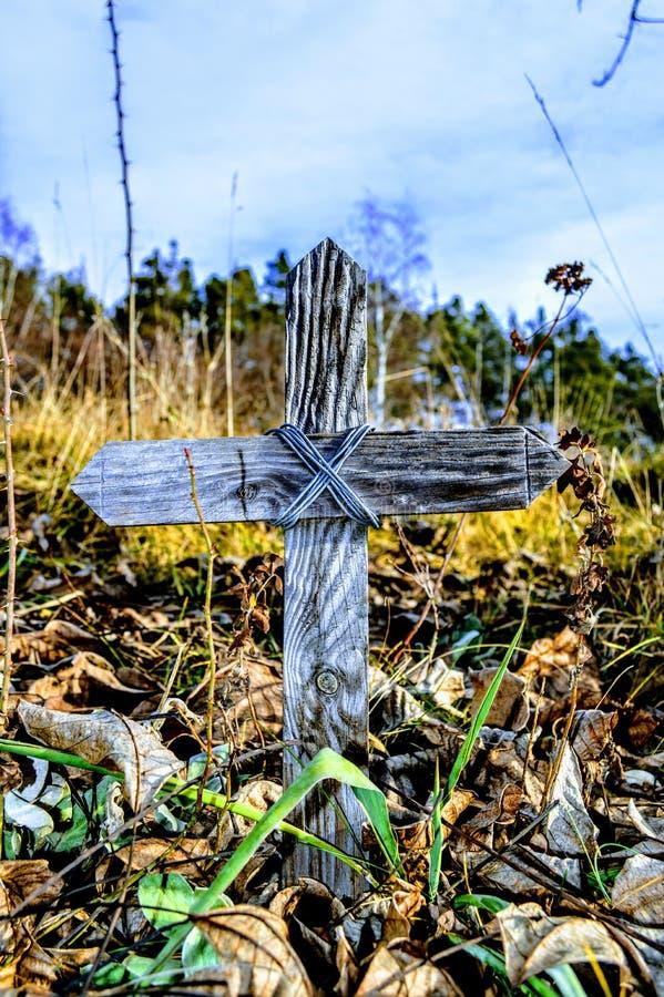 十字架,木头,坟墓,色彩,艺术, 库存图片