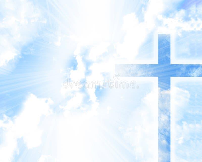 十字架 库存例证