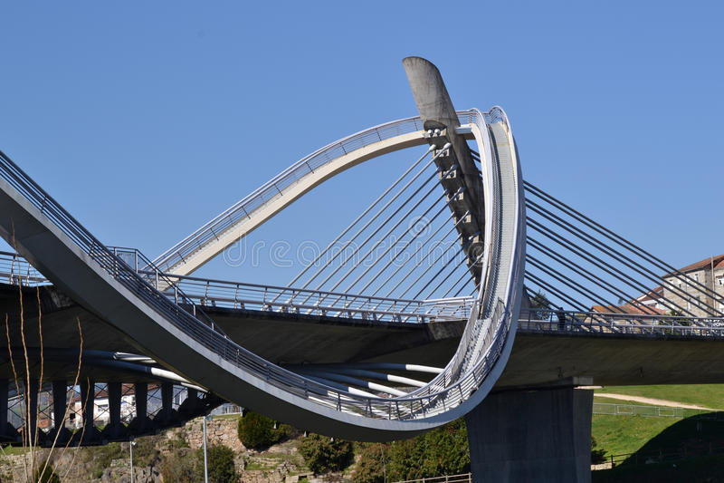 千年桥梁 库存图片
