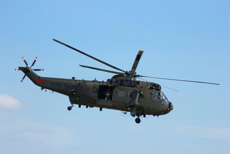 1直升机军事占领抢救 免版税图库摄影
