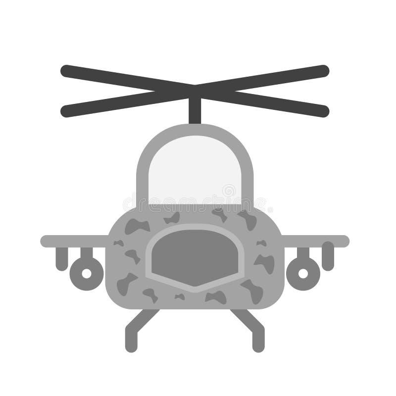 1直升机军事占领抢救 库存例证