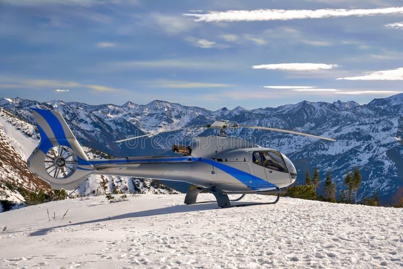直升机贝加尔湖 免版税库存照片