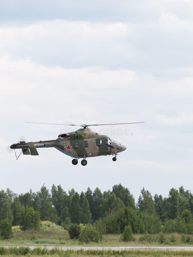 直升机Ansat-U 图库摄影