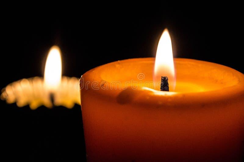 升蜡烛 免版税库存照片