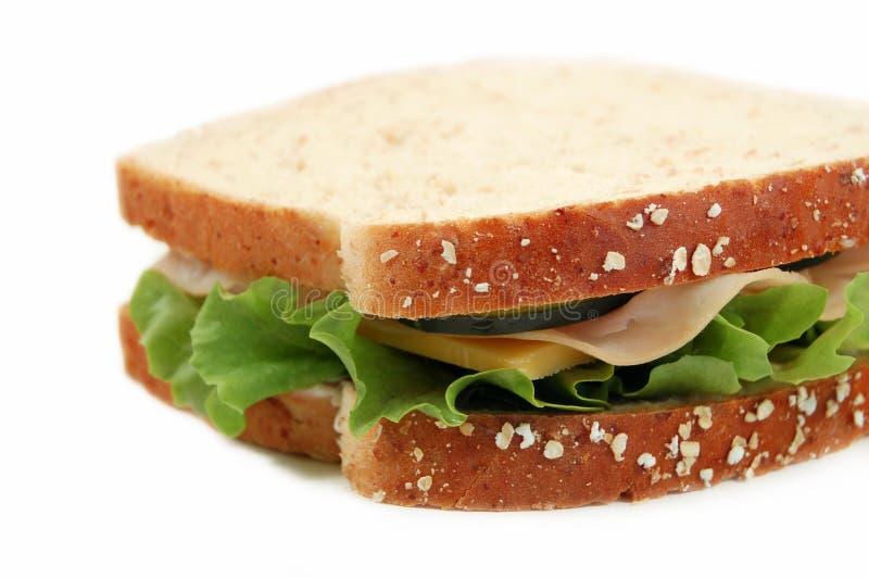 午餐的土耳其 免版税库存照片