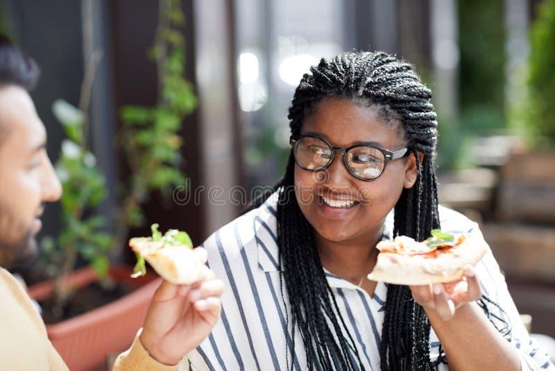 午餐的薄饼 图库摄影