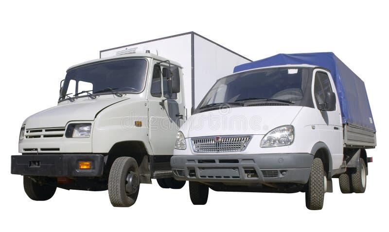 半卡车二 免版税库存图片