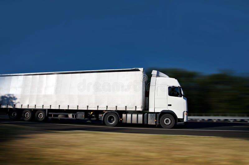 半卡车 免版税图库摄影