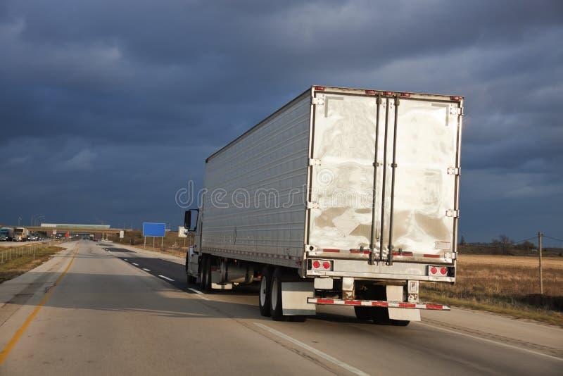 半卡车 图库摄影