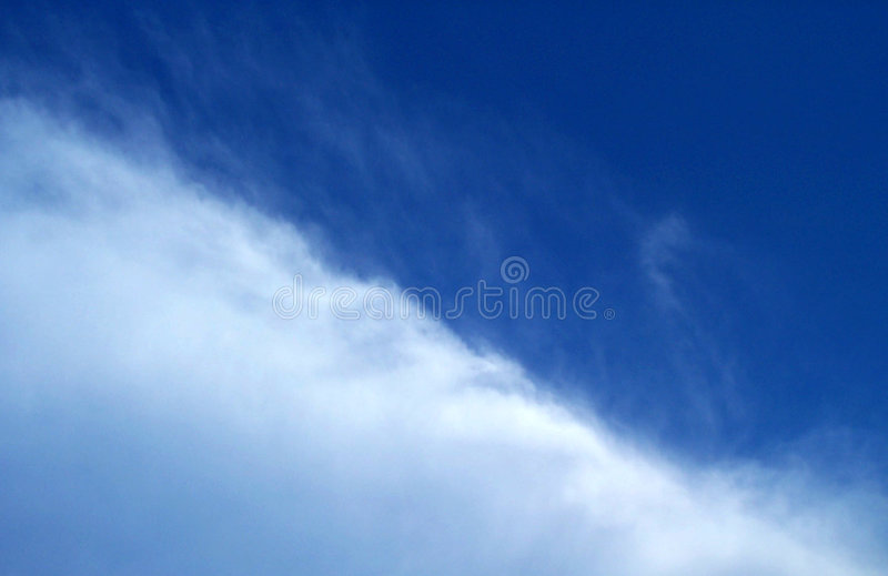 半天空 库存照片