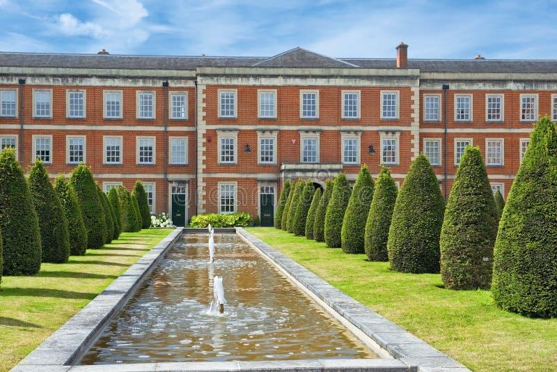 半岛营房的廓尔喀人博物馆,温彻斯特在汉普郡,英国 免版税库存照片