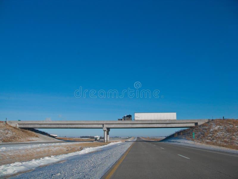 半桥梁 免版税库存照片