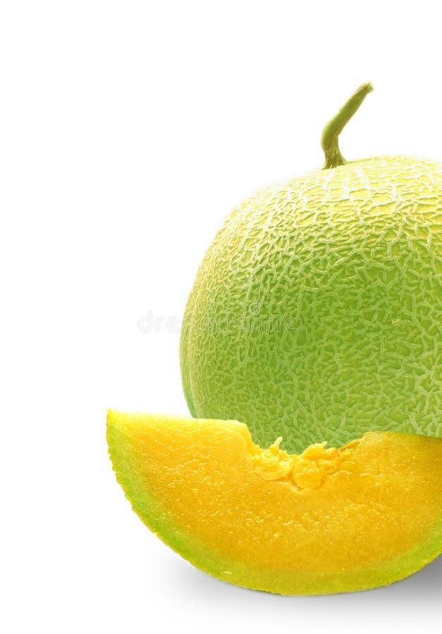 半的甜瓜 图库摄影