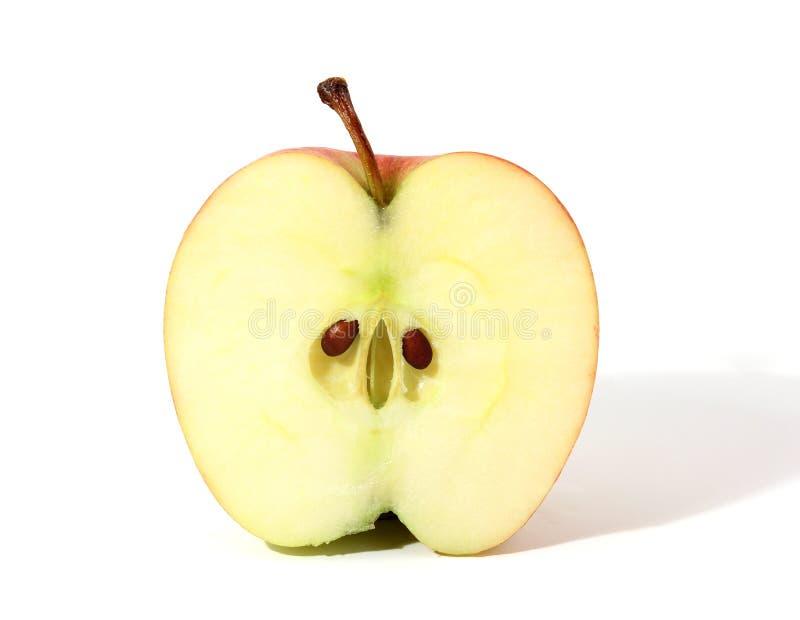 半的苹果 图库摄影