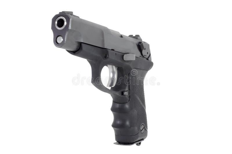 半自动左手枪 免版税库存图片