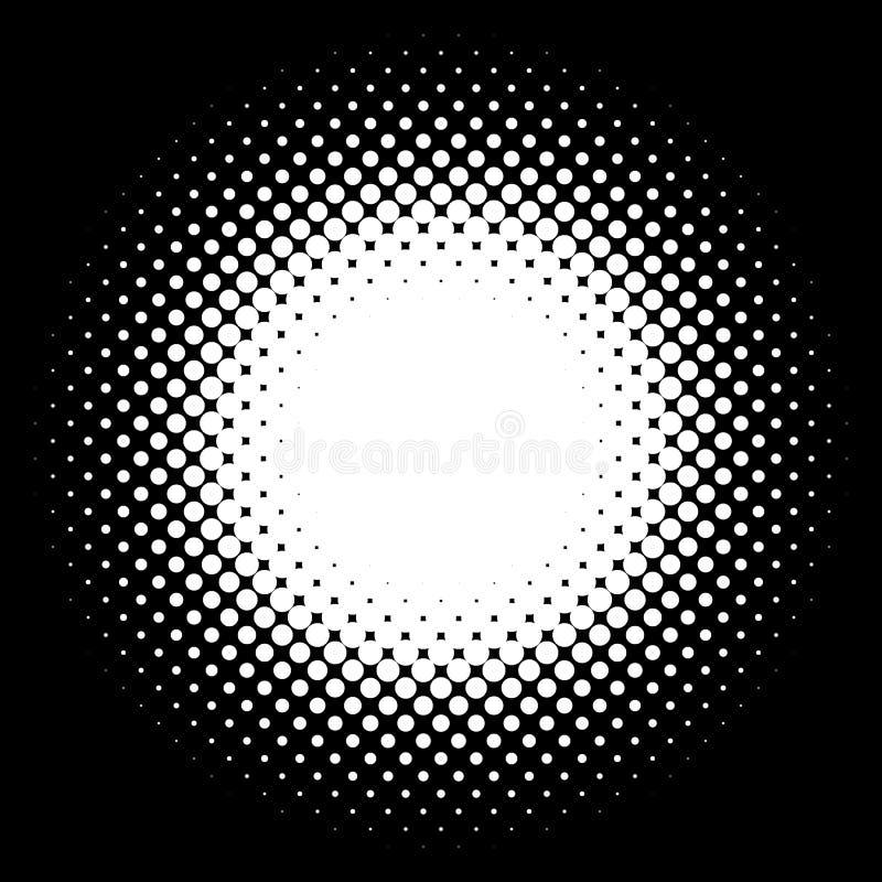 半音元素 与中间影调patt的抽象几何图表 皇族释放例证
