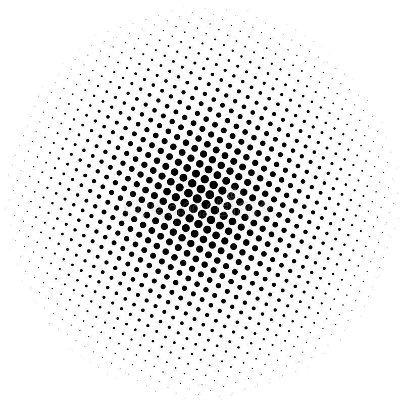 半音元素 与中间影调patt的抽象几何图表 向量例证
