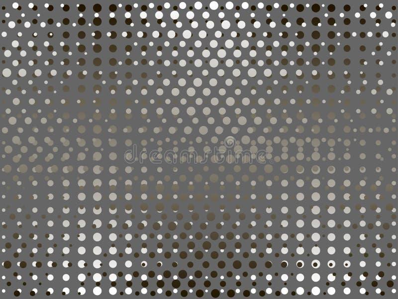 半音光点图形背景 流行艺术 向量 库存例证