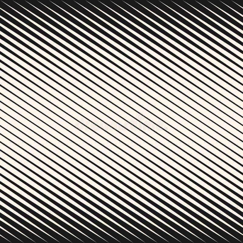 半音对角线镶边无缝的样式 向量例证