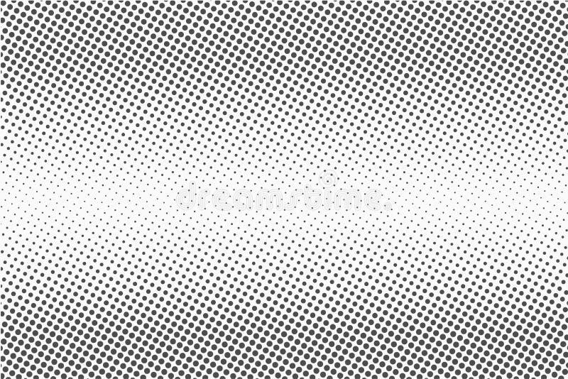 半音小点 单色传染媒介纹理背景为预先压制, DTP,漫画,海报 流行艺术样式模板 库存例证