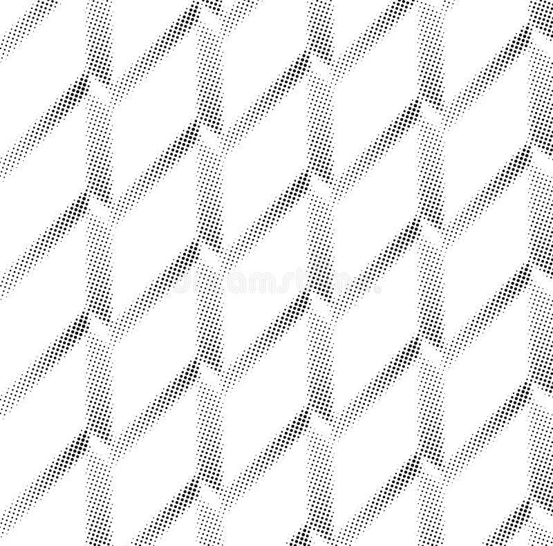 半音屏幕三角几何形式 黑色背景 白色纹理和样式 纸可折叠 褶 库存图片