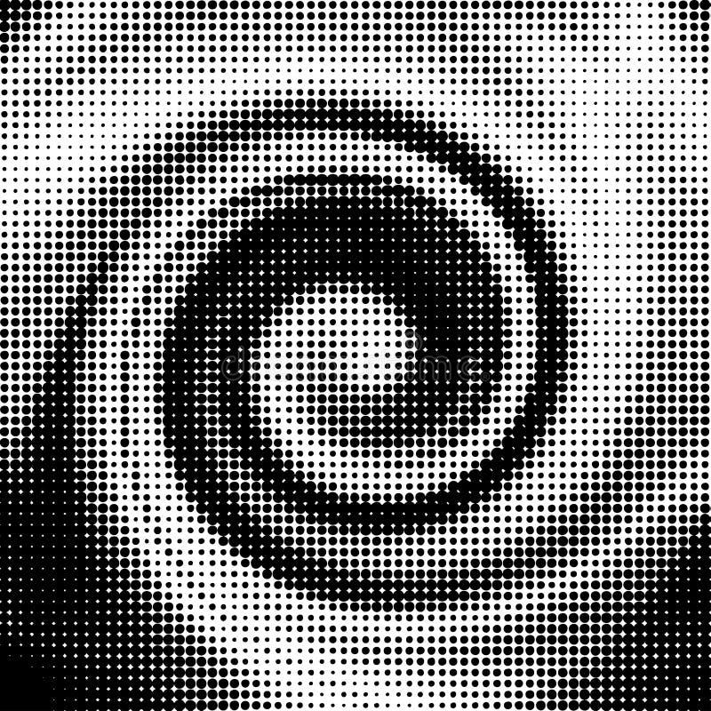 半音形状向量通知 向量例证